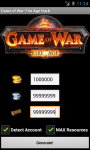 Game of War Fire Age Cheats Unofficial screenshot 1/2