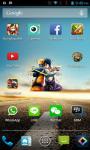 Naruto Sasuke Android Clock Widget screenshot 1/4