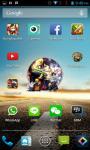 Naruto Sasuke Android Clock Widget screenshot 2/4