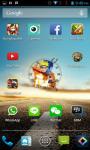 Naruto Sasuke Android Clock Widget screenshot 3/4