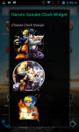 Naruto Sasuke Android Clock Widget screenshot 4/4