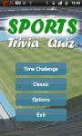 Sports Trivia Quiz screenshot 1/5