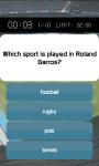 Sports Trivia Quiz screenshot 2/5