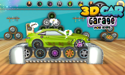 3D Car Garage For Kids screenshot 2/6