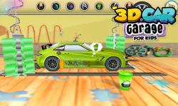 3D Car Garage For Kids screenshot 3/6