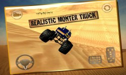 Monster Truck Desert Simulator screenshot 1/4