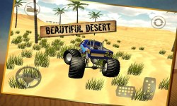 Monster Truck Desert Simulator screenshot 2/4