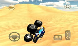 Monster Truck Desert Simulator screenshot 3/4