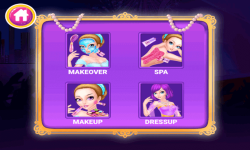 Princess Party Preparation Salon Game for Girls  screenshot 2/6