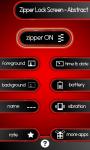Zipper Lock Screen – Abstract screenshot 2/6