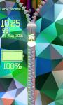 Zipper Lock Screen – Abstract screenshot 5/6