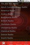 World Music Radio  screenshot 1/2