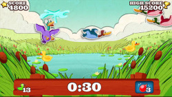 Super Paper Duck Hunt screenshot 1/4