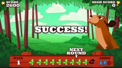Super Paper Duck Hunt screenshot 2/4