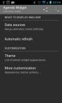 Agenda Widget Plus Gold screenshot 3/5