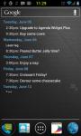 Agenda Widget Plus Gold screenshot 4/5