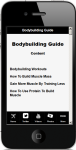 Bodybuilding Workouts 2 screenshot 4/4