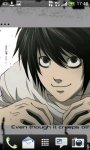Death Note L Wallpaper screenshot 3/6