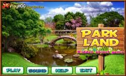 Free Hidden Object Games - Park Land screenshot 1/4