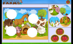 Simple Kids Puzzle - Farms screenshot 4/6
