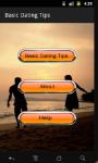 Basic Dating Tips screenshot 2/6