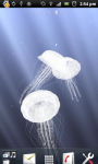 3D Jellyfish Live Wallpaper screenshot 3/6