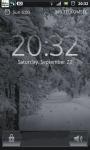 Snowfall Winter Road Live Wallpaper screenshot 1/6