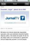 JURNAL TV screenshot 1/1