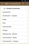 MultiConverter - UnitConverter screenshot 1/4