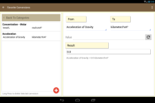 MultiConverter - UnitConverter screenshot 4/4