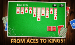 Spider Solitaire Game screenshot 2/3