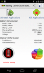 Battery Doctor and Saver screenshot 1/5