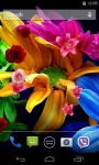 Flowers 3D Live Wallpaper parallax effect screenshot 1/5