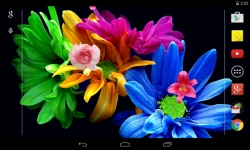 Flowers 3D Live Wallpaper parallax effect screenshot 5/5
