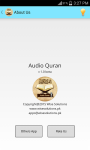 Audio Quran - MP3 Recitations screenshot 3/3