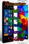 Precautions using Touch Screen Mobile screenshot 1/4