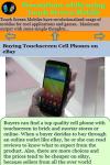 Precautions using Touch Screen Mobile screenshot 4/4