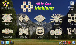 All-in-One Mahjong FREE screenshot 1/4