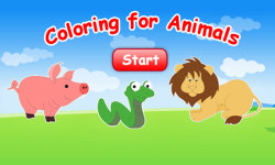 Coloring For Animals screenshot 1/3