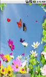 Cute Butterfly Live Wallpaper screenshot 3/4