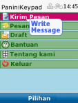 Panini Bahasa Keypad screenshot 2/3