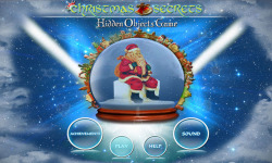 Free Hidden Objects Game - Christmas Secrets screenshot 1/4