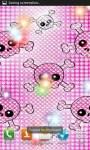 Pink Girly Skulls LWPfree screenshot 3/4
