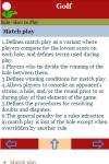 Rules to Play Golf screenshot 3/3