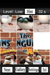 Funny Penguins of Madagascar Puzzle Games screenshot 2/4