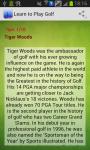 Learn to Play Golf Easy screenshot 1/2