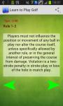Learn to Play Golf Easy screenshot 2/2