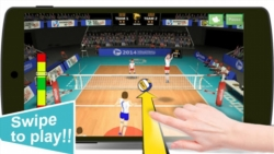 Volleyball Champions 3D Mingle screenshot 1/3