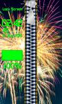 Zipper Lock Screen Fireworks screenshot 4/6