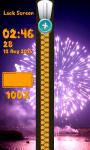 Zipper Lock Screen Fireworks screenshot 6/6